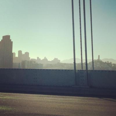 Bay Bridge City Scape