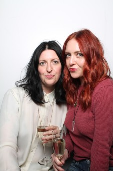 The gorgeous brain-trust behind White Rose Collection, Andrea Donoghue and Teddi Cranford.